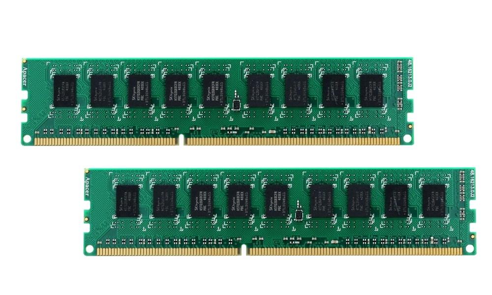 Operační paměť Synology DDR3 8GB ECC Operační paměť, 8GB, ECC, DDR3-1600, 2 x 4GB 2x4ECC