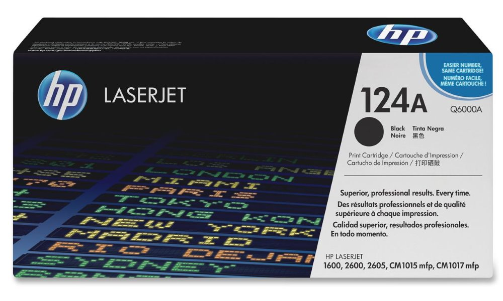 Toner HP Q6000A pro CLJ 2600, černý Q6000A