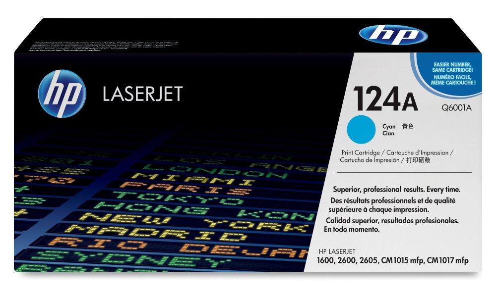 Toner HP Q6001A pro CLJ 2600, azurový Q6001A