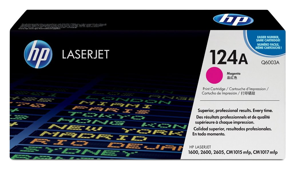 Toner HP Q6003A pro CLJ 2600, purpurový Q6003A