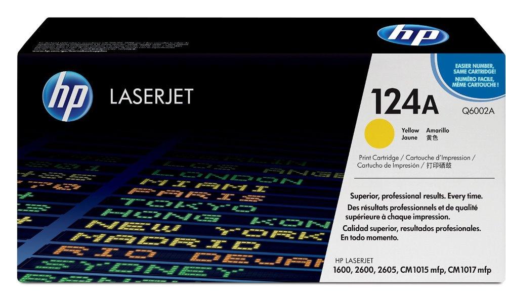 Toner HP Q6002A pro CLJ 2600, žlutý Q6002A