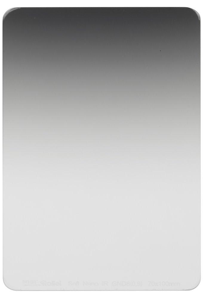Filtr Rollei Soft Nano IR GND8 šedý přechodový Filtr, 0.9, 70 mm, šedý přechodový 26000