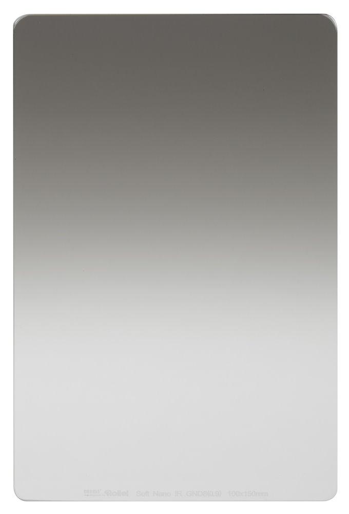 Filtr Rollei Soft Nano IR GND8 šedý přechodový Filtr, 0.9, 100 mm, šedý přechodový 26011