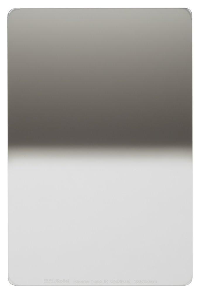 Filtr Rollei Hard Nano IR GND8 šedý přechodový Filtr, 0,9, 100 mm, šedý přechodový 26014