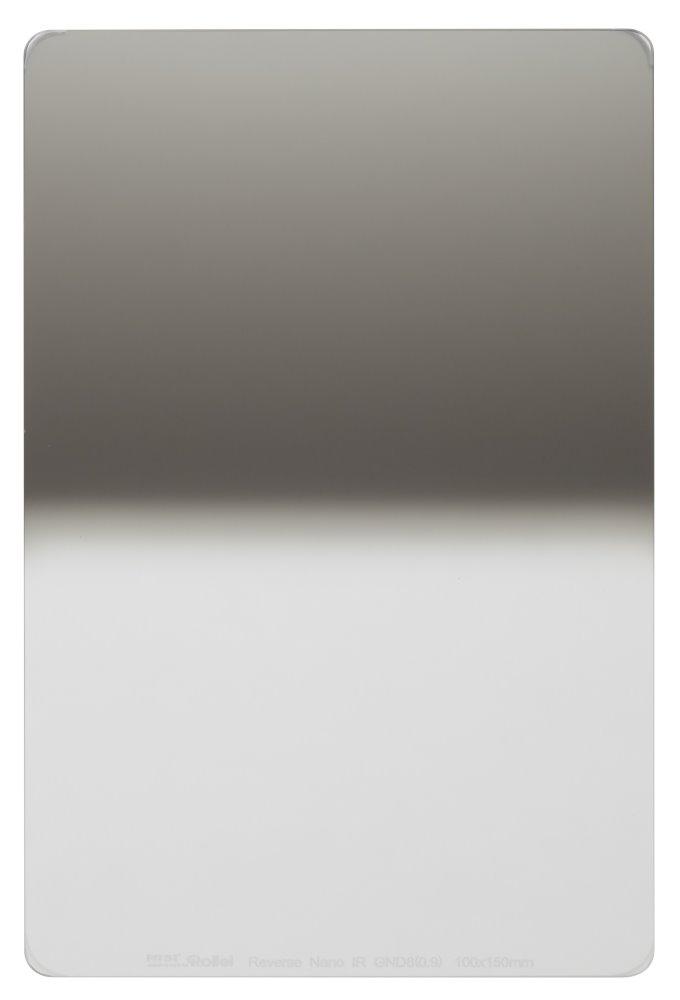 Filtr Rollei Reverse Nano IR GND8 šedý přechodový Filtr, 0.9, 100 mm, šedý přechodový 26015