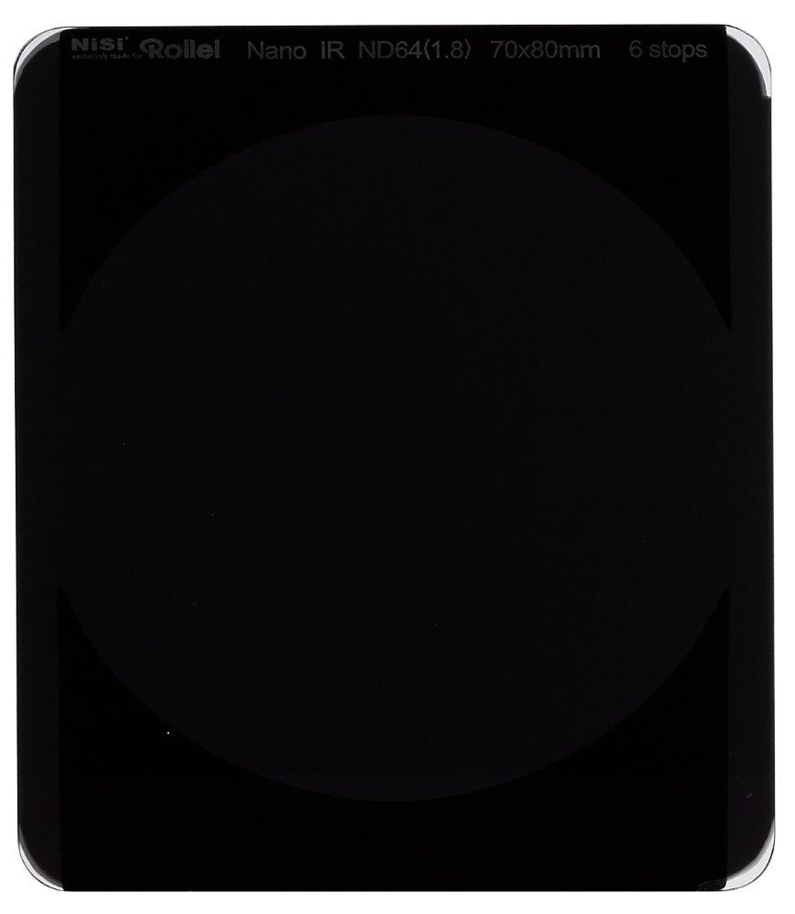 Filtr Rollei ND64 šedý neutrální 70 mm Filtr, 6 stops, 70 mm, šedý neutrální 26004