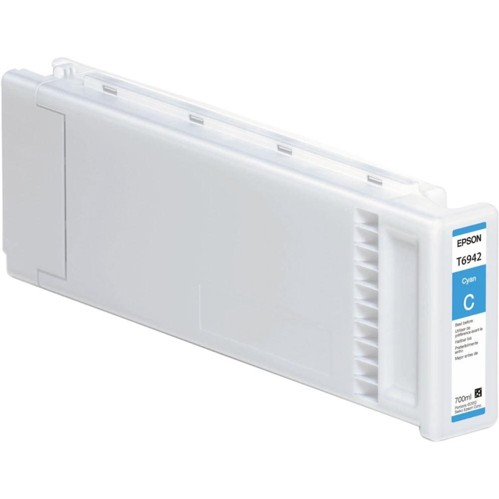 Inkoustová náplň Epson C13T694200 modrá Inkoustová náplň, Epson SureColor SC-T3000, SC-T5000, SC-T7000, 700 ml, modrá C13T694200