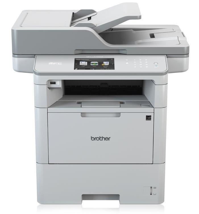 Multifunkční tiskárna BROTHER MFC-L6900DW Černobílá multifunkční laserová tiskárna, A4, 1200 x 1200 dpi, print, copy, scan, RJ-45, USB, 802.11b/g/n MFCL6900DWYJ1