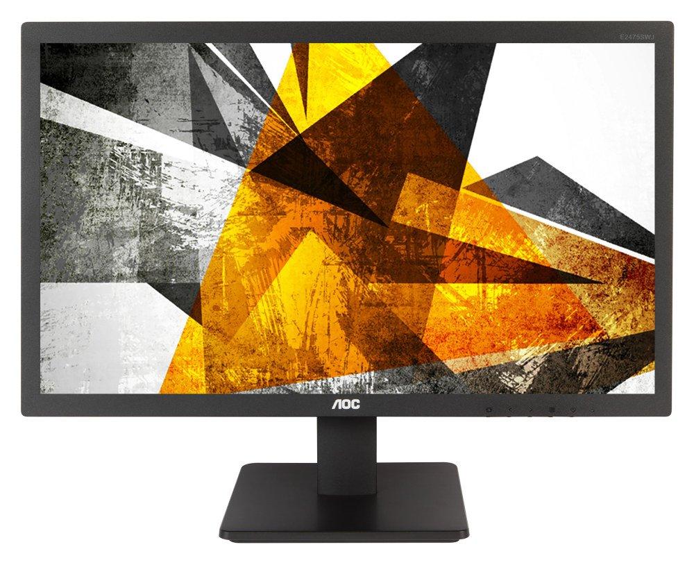 LED monitor AOC E2475SWJ 23,6 LED monitor, 23,6, 1920 x 1080, TN, 16:9, 2ms, 250cd/m2, HDMI, DVI, D-SUB, Repro, VESA 100x100 E2475SWJ