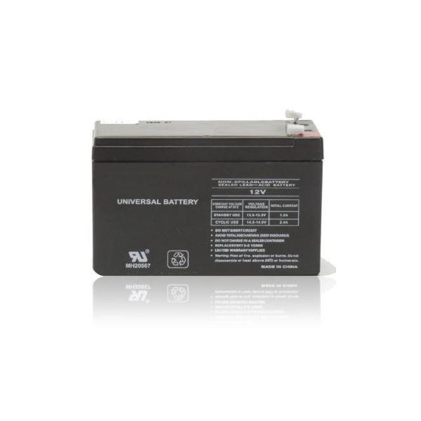 Baterie EUROCASE NP8-12 Baterie, do záložních zdrojů UPS, 12V, 8Ah NP8-12