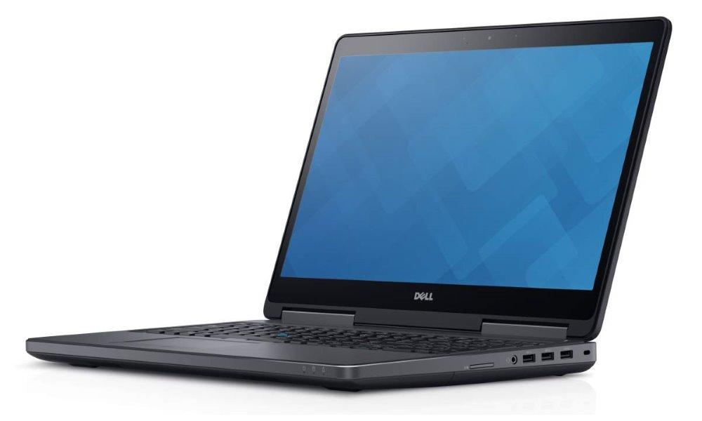 Notebook DELL Precision M7510 Notebook, i7-6820HQ, 8 GB, 1 TB 7200, nVidia Quadro M1000M 2 GB, 15.6 FHD, W7Pro W10P, vPro, 3YNBD on-site G1DR0