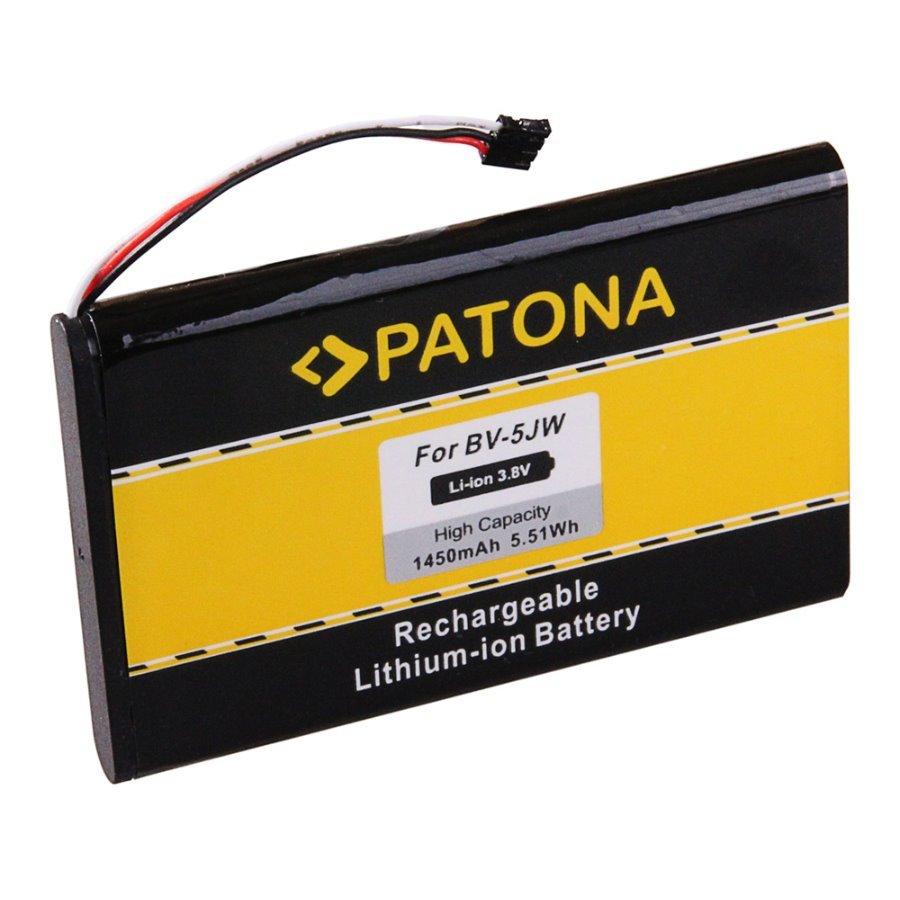 Baterie PATONA kompatibilní s Nokia BV-5J Baterie, pro mobilní telefon Nokia Lumia 800, Nokia Lumia N9, Nokia Lumia N9-00, nahrazuje Nokia BV-5J, 1450 mAh, 3.8 V, Li-Ion PT3132
