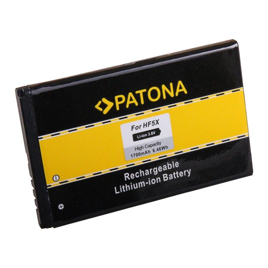 Baterie PATONA kompatibilní s Motorola HF5X Baterie, pro mobilní telefon Motorola Defy+, Defy mini, MB526, MB835, nahrazuje HF5X, 1700 mAh, 3,8 V, Li-lon PT3142