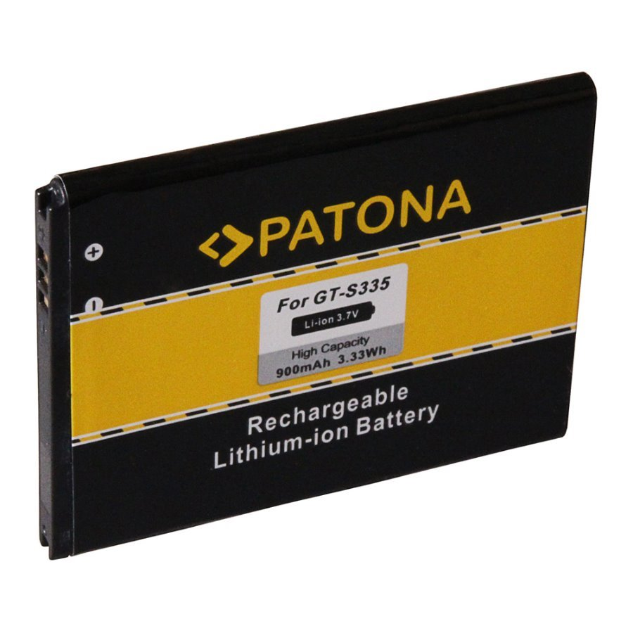 Baterie PATONA kompatibilní s Samsung EB424255VA Baterie, pro mobilní telefon Samsung Ch@t 357, REX80, S3350, S3570, S3850, S5220, Star 3, nahrazuje EB424255VA, 900 mAh, 3.7 V Li-Ion PT3144