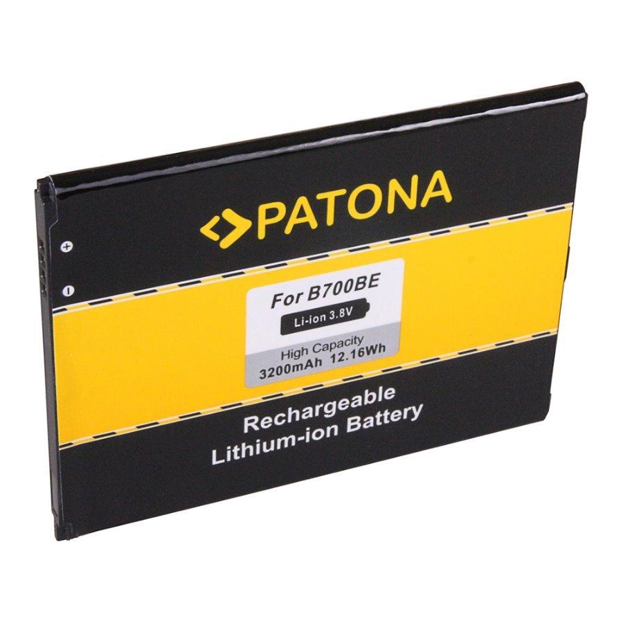 Baterie PATONA kompatibilní s Samsung B700 Baterie, pro mobilní telefon Samsung Galaxy, GT-i9200, GT-i9205, GT-i9208, SGH-i527, Mega 6.3, Mega 6.3 LTE, nahrazuje B700, 3200 mAh, 3.8 V, Li-Ion PT3145