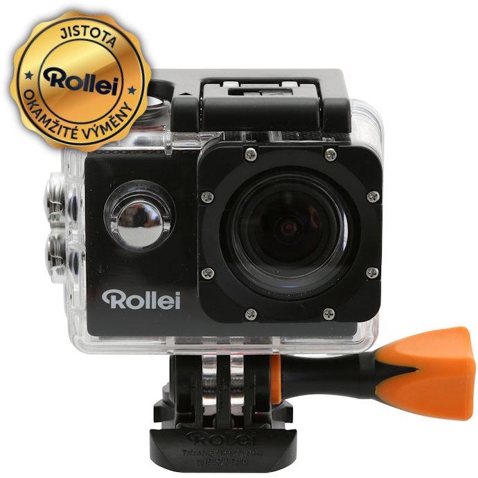 Kamera Rollei ActionCam 333 Kamera, outdoor, Full HD 1080p video, 30 fps, 170, podvodní pouzdro do 30 m, Wi-Fi, černá 40293