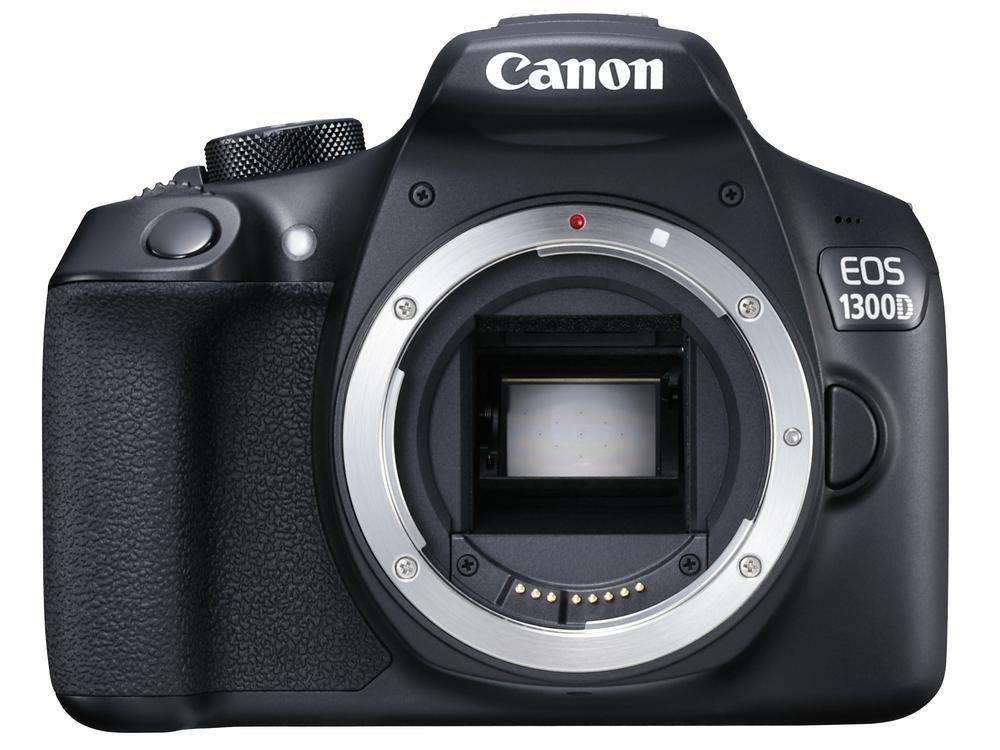 Digitální zrcadlovka Canon EOS 1300D Digitální zrcadlovka, 18 MPix, 3 LCD, Zrcadlovka, Full HD video, pouze tělo 1160C022