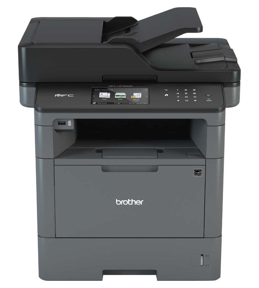 BROTHER laser MFC-L5750DW / A4 / Laser / 1200 x 1200 dpi / černobílá / print / copy / scan / USB / RJ-45 / 802.11b/g/n