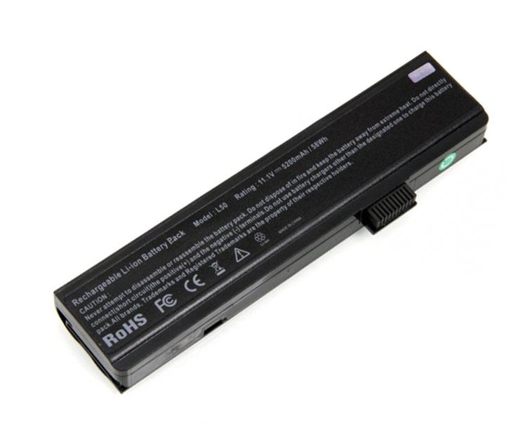 Baterie TRX pro notebooky Fujitsu Siemens 5200 mAh Baterie, 5200 mAh, pro Fujitsu Siemens Amilo Li1818, PA2510, Pa1510, Pi1505, Pi2512, Pi2515 TRX-FSM L50