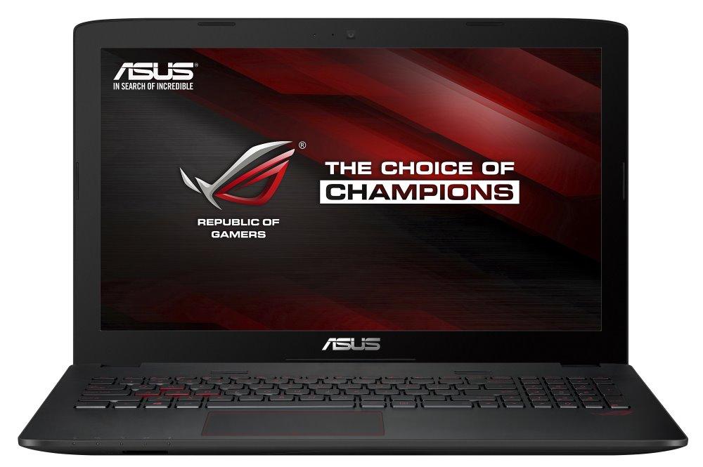 Notebook ASUS ROG GL552VX-CN146T Notebook, i5-6300HQ, 8 GB, 1 TB - 7200, 15,6 FHD IPS, DVD-RW, GTX950M 2 GB, W10, černý GL552VX-CN146T