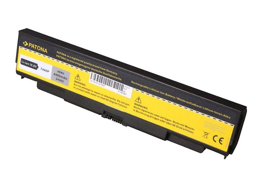 Baterie PATONA pro Lenovo L440 4400 mAh Baterie, pro notebook Lenovo L440, 4400 mAh, Li-Ion, 10,8 V, nahrazuje 45N1145 PT2436