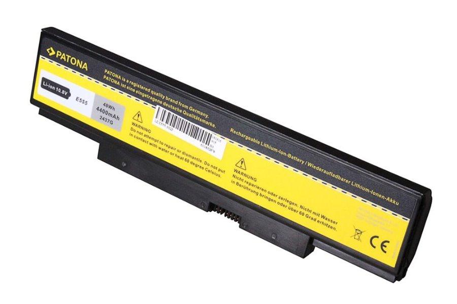 Baterie PATONA pro Lenovo E550 4400 mAh Baterie, pro notebook Lenovo E550, 4400 mAh, Li-Ion, 10,8 V, nahrazuje 45N1758 PT2437
