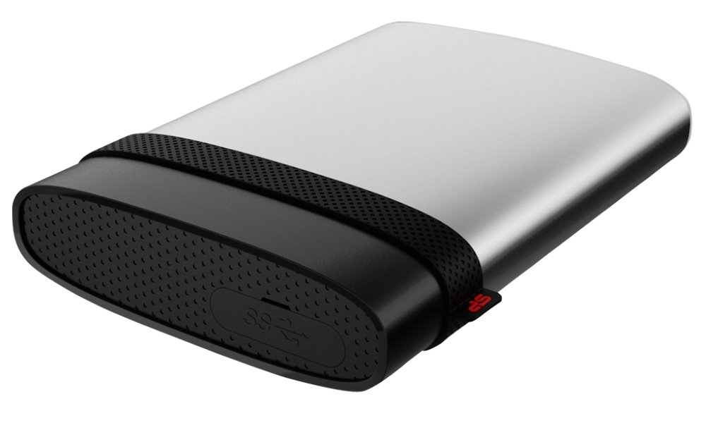 Pevný disk SILICON POWER Armor A85 500 GB Pevný disk, externí, 500 GB, USB 3.0, odolný vůči vodě a nárazům SP500GBPHDA85S3S