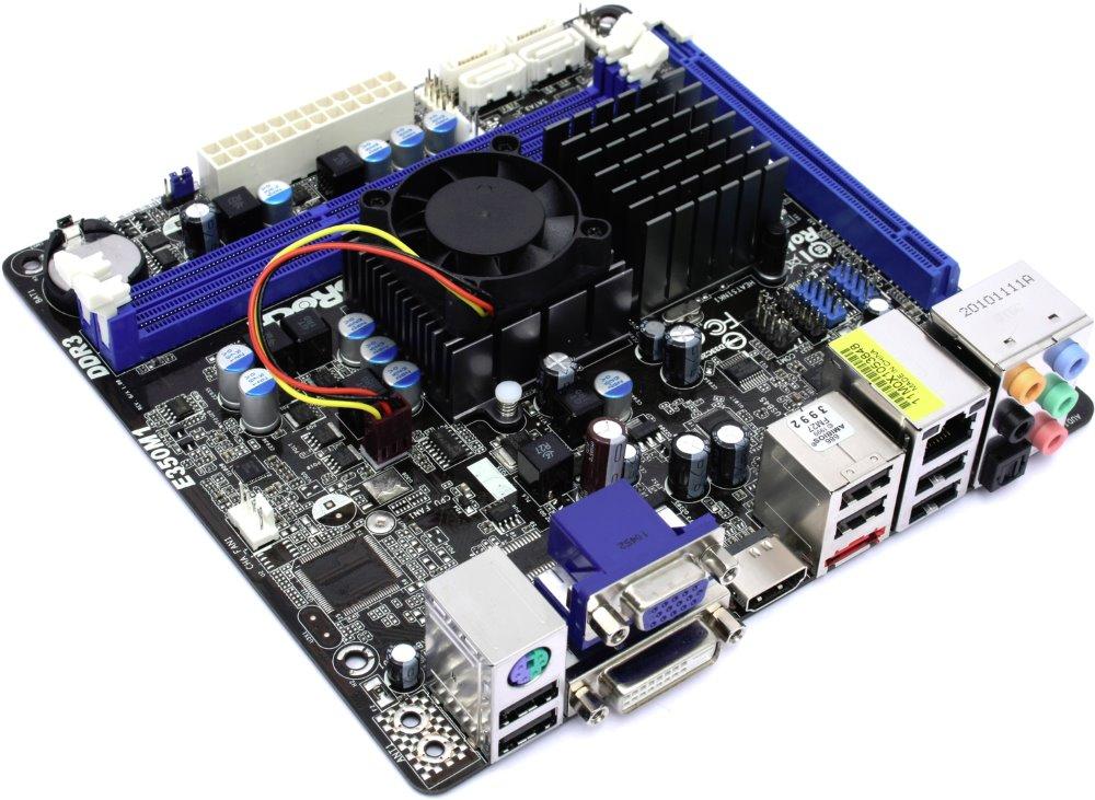Základní deska ASRock E350M1 Základní deska, AMD A50M, integrovaný AMD Zacate E-350, DDR3 1066, mini-ITX - OPRAVENÉ MBAR5050V