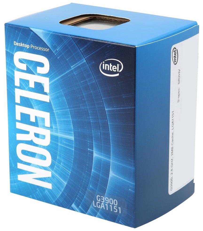Procesor INTEL Celeron G3900 Procesor, 2,8 GHz, 2 MB, socket 1151, BOX BX80662G3900
