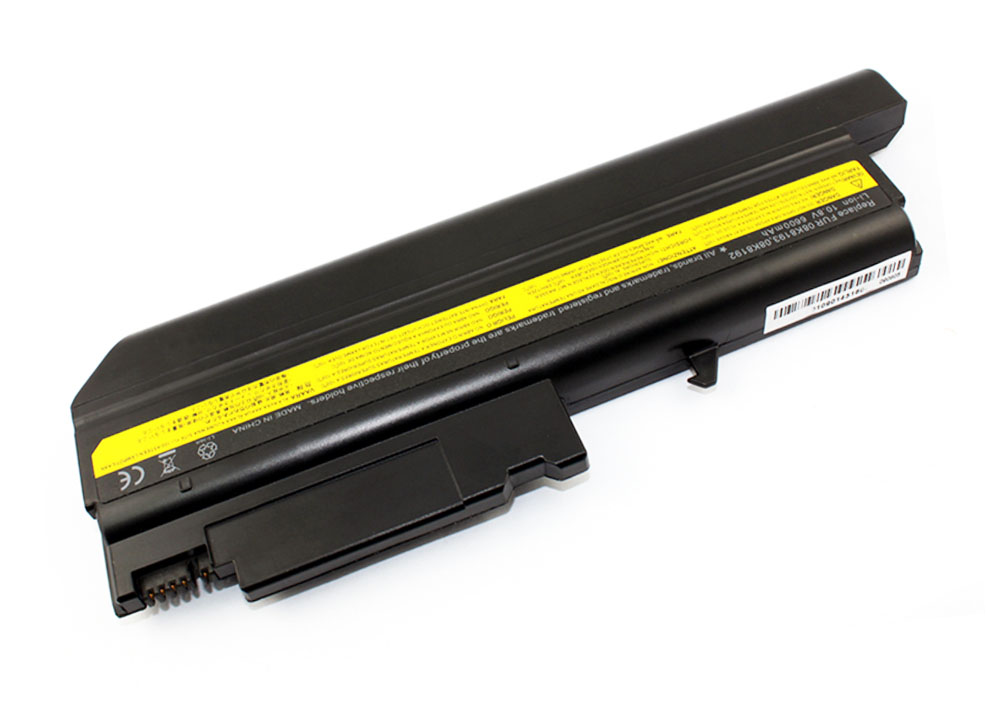 Baterie TRX pro Lenovo IBM ThinkPad 6600 mAh Baterie, 6600 mAh, pro Lenovo Thinkpad T40, T41, T42, T43, R50, R51, R52 TRX-08K8193 H
