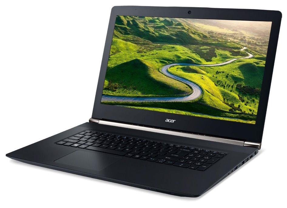 Notebook Acer Aspire V 17 Nitro II Notebook, i7-6700HQ, 8 GB, 256 GB SSD, DVDRW, GTX 950M 4 GB, 17,3 FHD IPS matný, Bluetooth, Win 10 Home, černý NH.G6REC.001