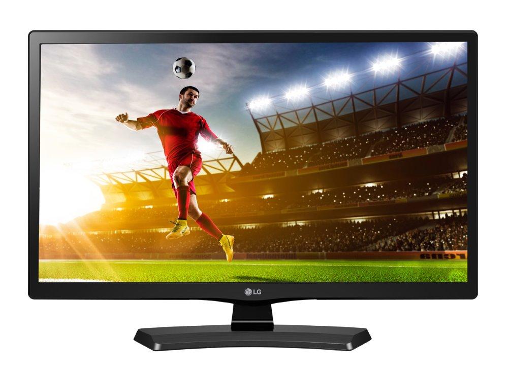 LCD monitor LG 24MT48DF 23,6 LCD monitor, s TV tunerem, 23,6, IPS, 1366 x 768, 5M:1, 5 ms, HDMI, DVB-T/C, SCART, USB, černý 24MT48DF-PZ.AEU