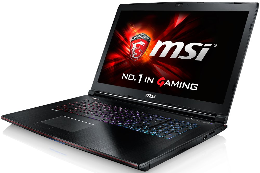 Notebook MSI GE72 6QE-622CZ Apache Pro Notebook, 17,3 FHD, i7-6700HQ, 16 GB DDR4, 256 SSD M.2 + 1 TB, GTX965M 2 GB, Win10 GE72 6QE-622CZ