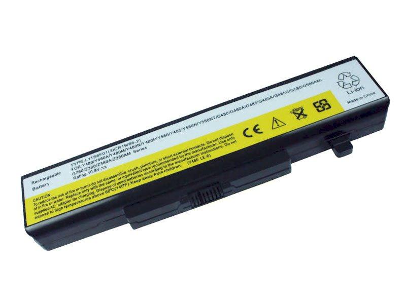 Baterie TRX pro Lenovo IBM IdeaPad 4400 mAh Baterie, 4400 mAh, pro Lenovo IBM IdeaPad G480, G485, G580, G585, Y480, Y480N, Y480P Y485, Y485N, neoriginální TRX-L11L6F01