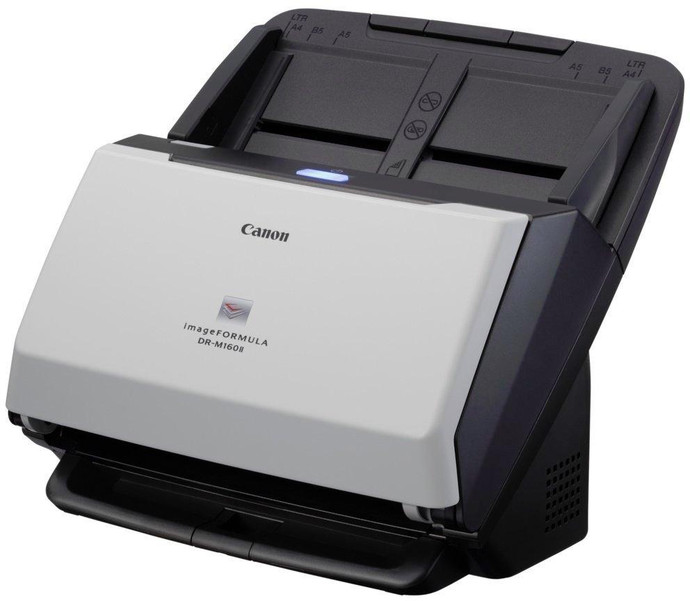 Skener Canon imageFORMULA DR-M160 II Skener, stolní, A4, 60 str./min, šedý 9725B003