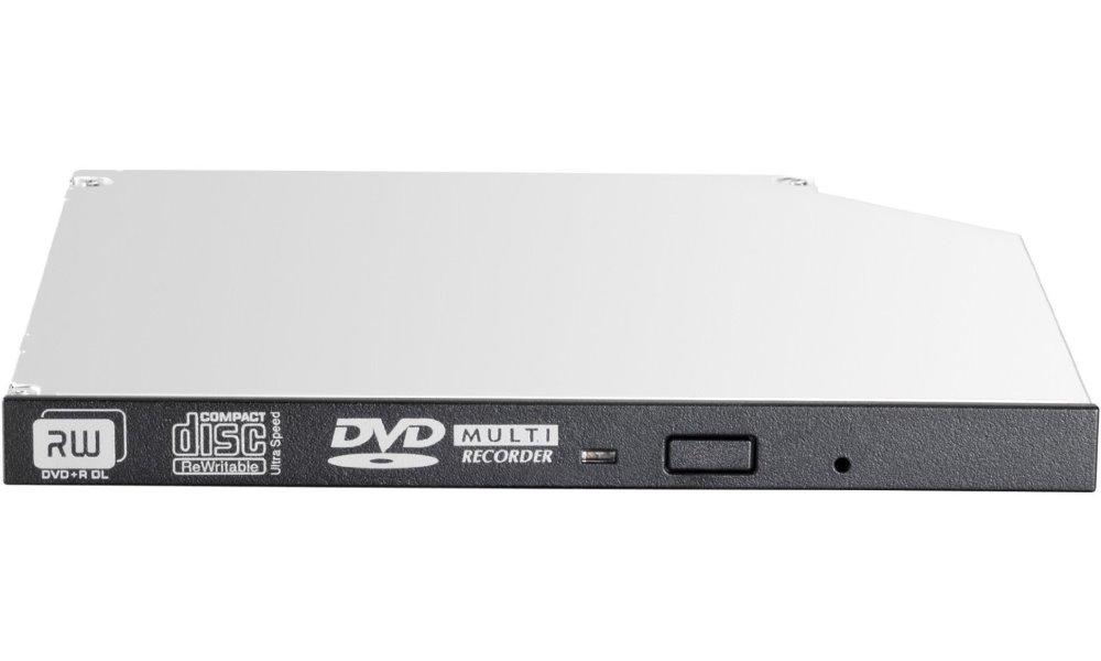 DVD mechanika HP JackBlack DVD mechanika, interní, slim 9.5 mm, DVD-RW, Gen9, černá 726537-B21