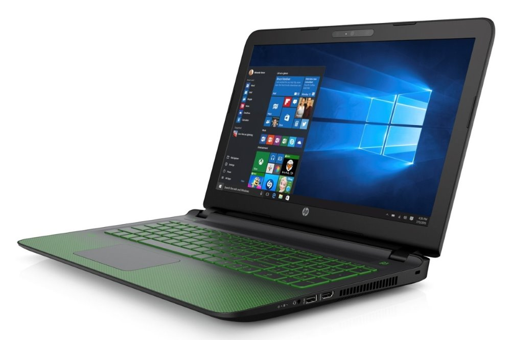 Notebook HP Pavilion 15-ak006nc Notebook, 15.6 FHD, i7-6700HQ, 8 GB, 1 TB + 128 GB SSD, GTX 950M 4 GB, Win10 P7T55EABCM