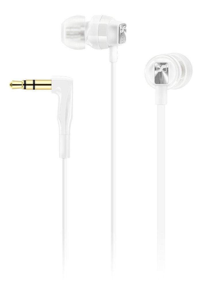 Sluchátka SENNHEISER CX 3.00 Sluchátka, do uší, 3,5 mm jack, citlivost 118 dB/mW, bílá 506246
