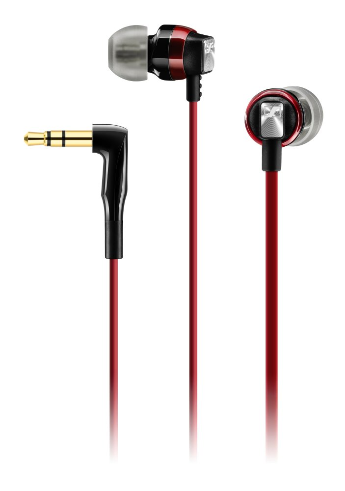 Sluchátka SENNHEISER CX 3.00 Sluchátka, do uší, 3,5 mm jack, citlivost 118 dB/mW, červená 506245