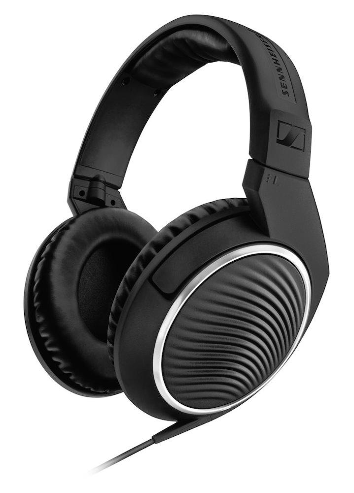 Headset SENNHEISER HD 461i Headset, drátový, 3,5 mm jack, citlivost 112 dB/mW, pro Apple, černý 506775