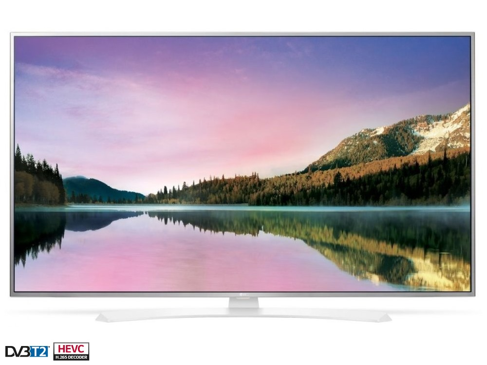 LED televize LG 49UH664V 49 LED televize, smart, 49, 4K UltraHD 3840 x 2160, IPS, DVB-S2/T2/C, 3 x HDMI, 2 x USB, LAN, Wifi, energetická tř. A+ 49UH664V