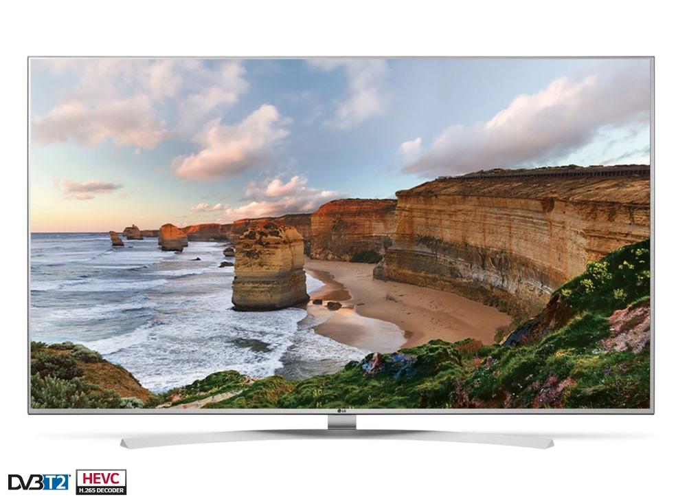 LED televize LG 49UH7707 49 LED televize, smart, 49, 4K Ultra HD 3840 x 2160, IPS, DVB-S2/T2/C, 3 x HDMI, 3 x USB, LAN, Wifi, energetická tř. A 49UH7707