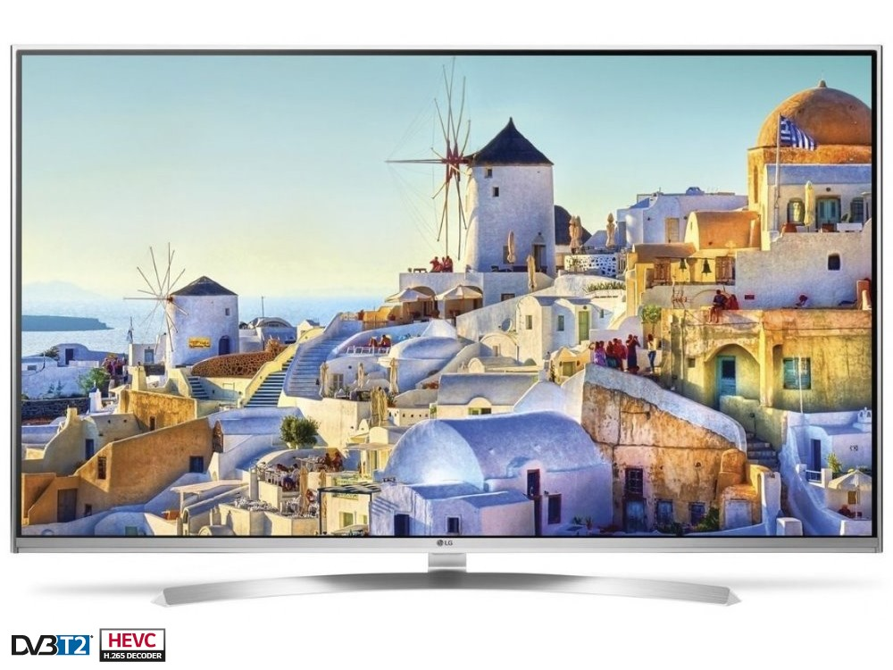 LED televize LG 55UH8507 55 LED televize, smart 3D, 55, 4K UltraHD 3840 x 2160, IPS, DVB-S2/T2/C, 3 x HDMI, 3 x USB, Wifi, LAN, Energ. tř. A+ 55UH8507