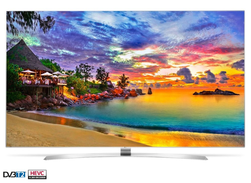 LED televize LG 55UH950V 55 LED televize, smart 3D, 55, 4K UltraHD 3840 x 2160, IPS, DVB-S2/T2/C, 3 x HDMI, 3 x USB, Wifi, LAN, 2 x brýle 55UH950V