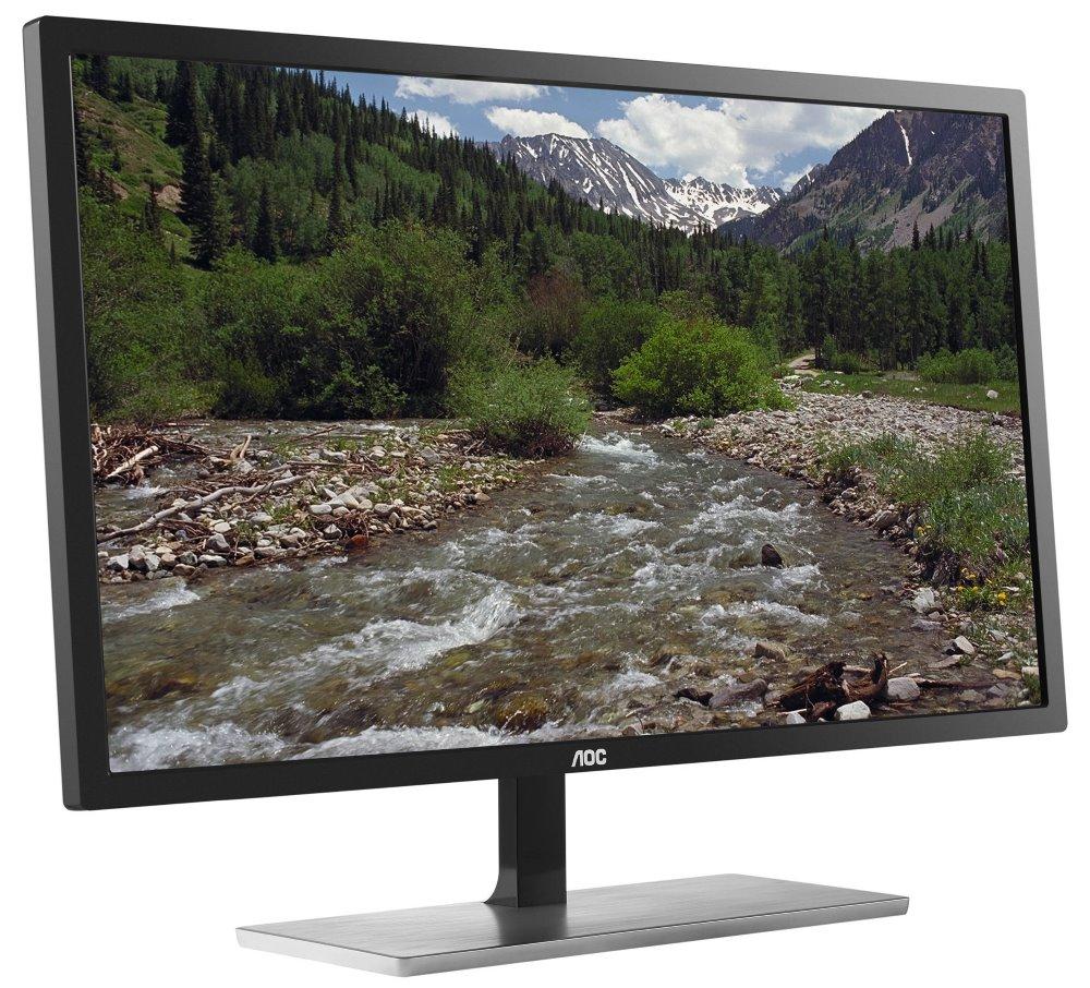 LED monitor AOC U2879VF 28 LED monitor, 28, 3840x2160, TN, 16:9, 1 ms, 300cd/m2, DP, HDMI, MHL, DVI, D-SUB U2879VF