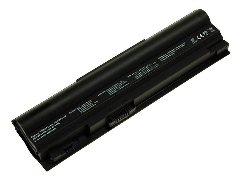 Baterie TRX pro Sony Vaio VGN-TT46 4400 mAh Baterie, 4400 mAh, pro Sony Vaio VGP-BPL14, VGP-BPL14, VGP-BPL14B, VGP-BPS14, VGP-BPS14B, TT46, TT50, TT51, neoriginální TRX-VGP-BPS14