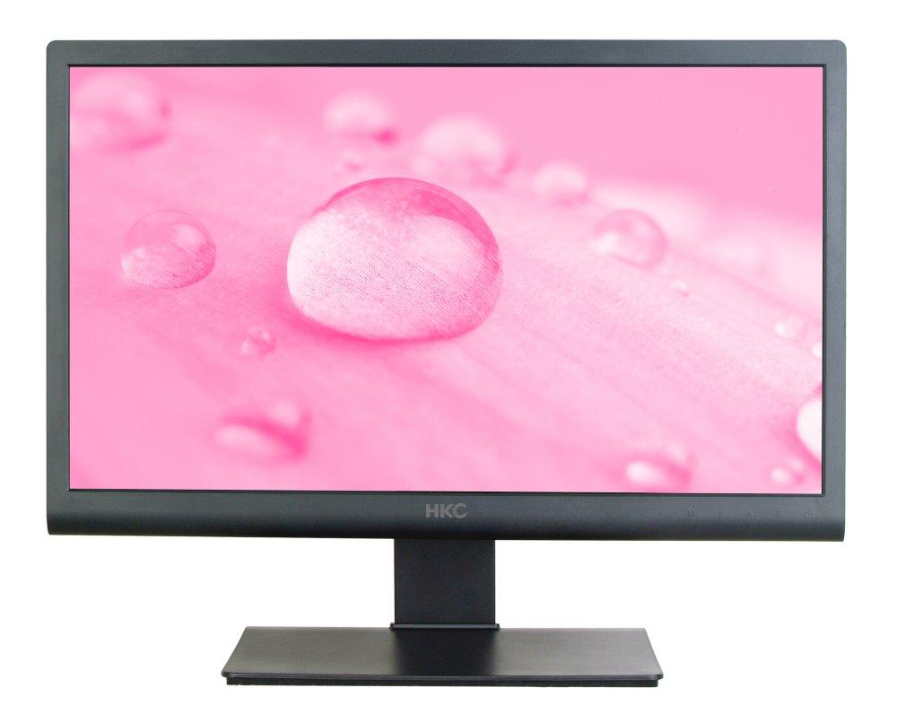 LED monitor HKC 2076A 19,5 LED monitor, 19,5, 1600x900, 2 ms, 16:9, 10M:1, 2x1 W, D-sub, DVI, černý 2076A