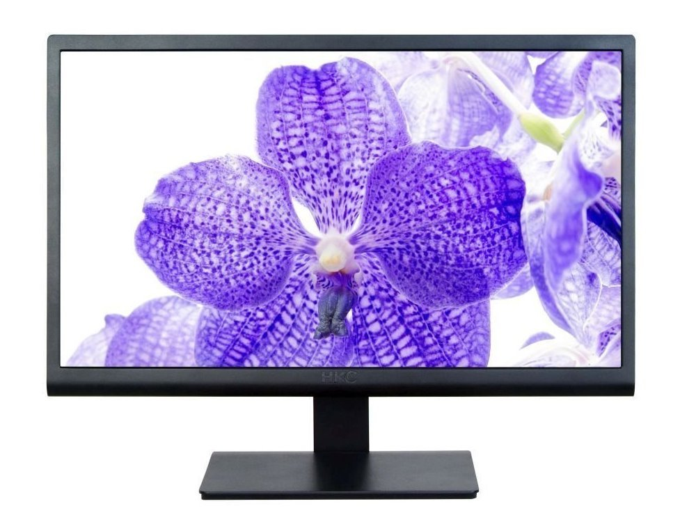 LED monitor HKC 2275A 21,5 LED monitor, 21,5, 1920x1080, 2ms, 16:9, 10M:1, D-sub, DVI, černý 2275AD