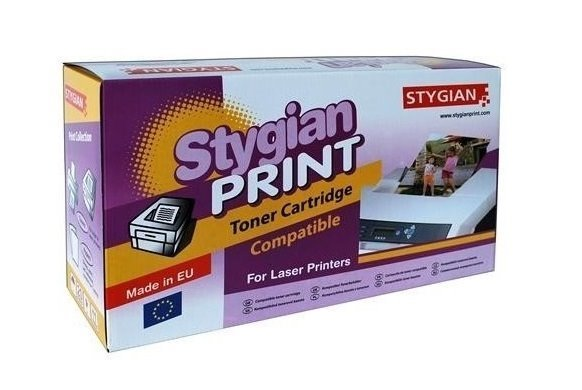 Toner STYGIAN kompatibilní s Kyocera TK3150 Toner, alternativa za Kyocera TK3150-BK, černý, 14500 stran, TK3150 3302034036
