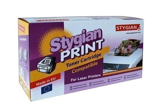 Toner STYGIAN kompatibilní s Kyocera TK570C Toner, alternativa za Kyocera TK570-C, azurový, 12000 stran, TK570C 3302034016